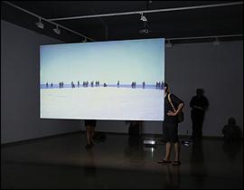 Javier Artero. El Periplo, 2015. Vídeo instalación, vídeo Full HD, 24´26´´