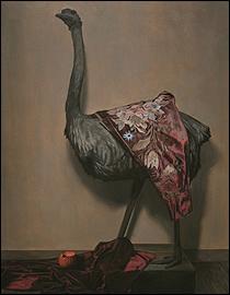 Antonio Montalvo. Hiato, 2015. Óleo sobre lienzo, 150 x 114 cm.