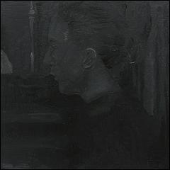 José Luis Valverde. Sin título, 2015. Óleo sobre lienzo, 30x30 cm.