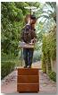 Escultura 'Como un monumento al artista', 2010. Técnica: bronce policromado
