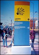Decret nª 1 - Public signs. Seville, 1992 (Rogelio López Cuenca EXPO 1992)