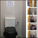 Pau Figueres Ortiz: Toilet piece Fontana (2010-2011). Proyecto artístico. Performance