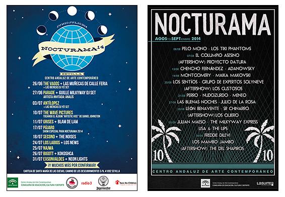 Carteles de Nocturama 2014
