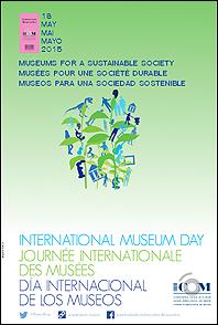 Cartel del Día Internacional de los museos - 2015