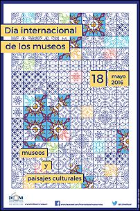 Cartel del Día Internacional de los museos - 2016