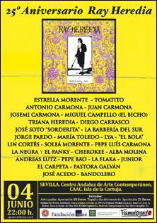 Concierto 25 Aniversario Ray Heredia [Centro Andaluz de Arte Contemporáneo]