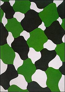 EQUIPO 57. Sin título, 1961. Óleo sobre lienzo. 120 x 86 cm.
