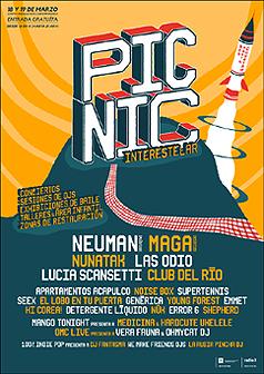 Cartel provisional del festival El Día de la Marmota - 2017