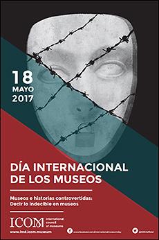 Cartel del Día Internacional de los museos - 2017