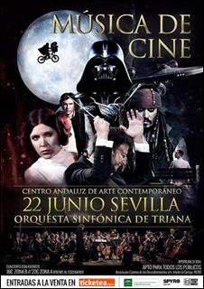 Música de cine. Orquesta Sinfónica de Triana [Centro Andaluz de Arte Contemporáneo]