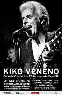 Concierto Kiko Veneno [Centro Andaluz de Arte Contemporáneo]