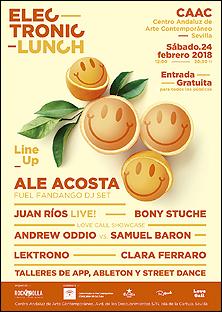 Electronic Lunch // 2018-01 (Centro Andaluz de Arte Contemporáneo)