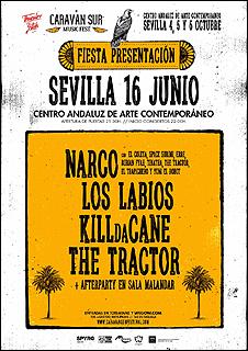 Fiesta presentación Caravan Sur Music Fest