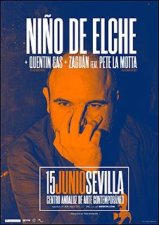 Concierto Niño de Elche + Quentin Gas + Zaguan feat. Pete La Motta