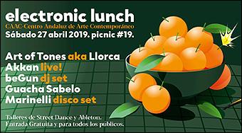 Electronic Lunch // 2019-03 (Centro Andaluz de Arte Contemporáneo)