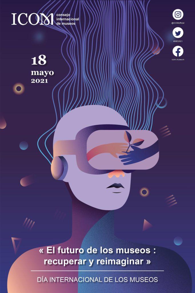 Cartel del Día Internacional de los museos - 2021