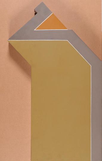 JORDI TEIXIDOR. El pequeño príncipe, 1971. 100,5 x 61 x 7,8 cm. Acrílico sobre madera