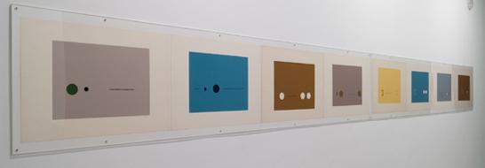 PIC ADRIÁN. Sin título, ca. 1960. 46,8 x 64,3 cm. Serigrafías sobre papel