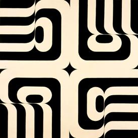 MANUEL BARBADILLO. Aeleón, 1969-1971. Acrílico sobre lino. 81 x 81 cm