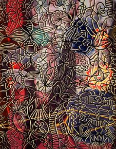 PATRICIO CABRERA. Interior o El estudio abandonado por el artista, 1993. 162 x 130 cm. Acrílico sobre tela