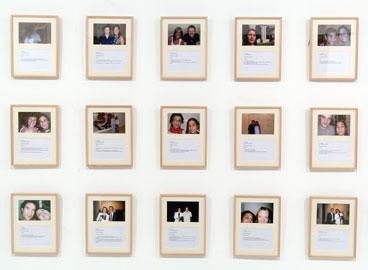 DORA GARCÍA. La esfinge, 2004, 2006. 32 x 26 cm. c/u. 164 fotografías