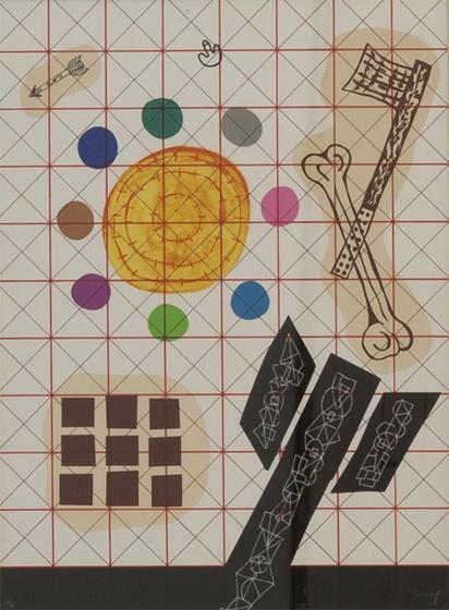 FERRÁN GARCÍA SEVILLA. 1989-1. Serie (1989). Nº en la edición: 38/75. Litografía 76 x 56 cm