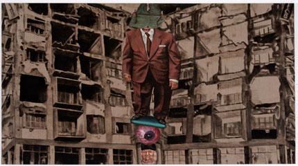 CURRO GONZÁLEZ. El alma del pecador, 2001. 160 x 290 cm. Acrílico sobre tela.