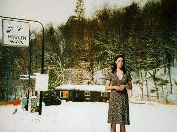 """MARK LEWIS. Rear Projection (Molly Parker), 2006. Nº Edición 1/4. DVD. Duración: 4'1"""""""