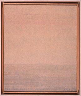 JOAQUÍN MEANA. Sin título, 1974. 46 x 38 cm. Óleo sobre lienzo