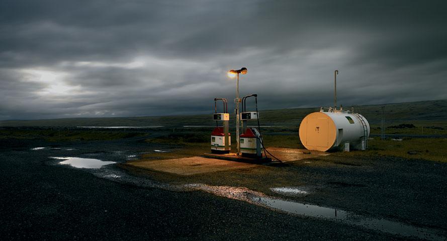 JOSÉ MARÍA MELLADO. Sin título, 2006. Serie Islandia nº 7. Ed. nº 5/5. 100 x 200 cm. Fotografía. Impresión Glicée