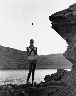 XAVIER MISERACHS. Marika Green, 1958 (copia moderna de 2006). 100,2 x 80 cm. Fotografía en blanco y negro