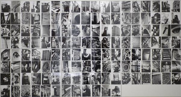 DAIDO MORIYAMA. Daido Hysteric nº4, 1993. 138 piezas de 30,4 x 25,3 cm c/u. Fotografía en blanco y negro. Copia sobre papel baritado a la gelatina de plata.