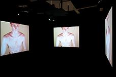 Bruce Nauman. Art Make-Up, 1967-1968. Vídeo en 4 canales, color, sonido, 40'