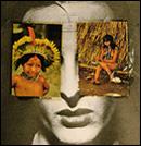 Ana Bella Geiger. Historia de Brasil. Ni�as y ni�os. Fotomontaje (6). Varias medidas. Colecci�n de la artista