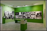 Museum of American Art. 50 ans d'art aux États Unies, 2007. Vista de la instalación en el CAAC