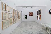 Vista de sala de la exposición 'Abstracción y movimiento'