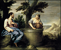 Alonso Cano (Granada, 1601-1667). Jesus and the Samaritan Woman. Museo de la Real Academia de Bellas Artes de San Fernando, Madrid