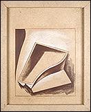 PEPE ESPALIÚ. Santos VI, 1988. Lápiz conté sobre conglomerado. Colección Centro Andaluz de Arte Contemporáneo