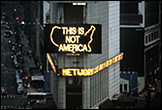 ALFREDO JAAR. A Logo for America, 1987. Courtesy of the artist