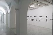 Vista de sala de la exposición 'Maryam Jafri. Sombras coloniales'