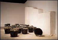 CARMEN LAFF�N. Espuertas cargadas de uvas, 2006-2009. Colecci�n CAAC