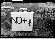 Lotty Rosenfeld. No More, 1983