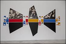 Lea Lublin. 'R.S.I., Durero, del Sarto, Parmigianino', 1983. Collection - Nicolas Lublin, París