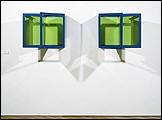Robert Smithson: The Enantiomorphic Chambers (Cámaras enantiomorfas), 1965/1999