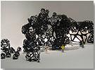 The Morning Line: Preliminary study. Matthew Ritchie, Aranda/Lasch & Daniel Bosia /ARUP AGU. Photo: Lyndon Douglas / Thyssen-Bornemisza Art Contemporary