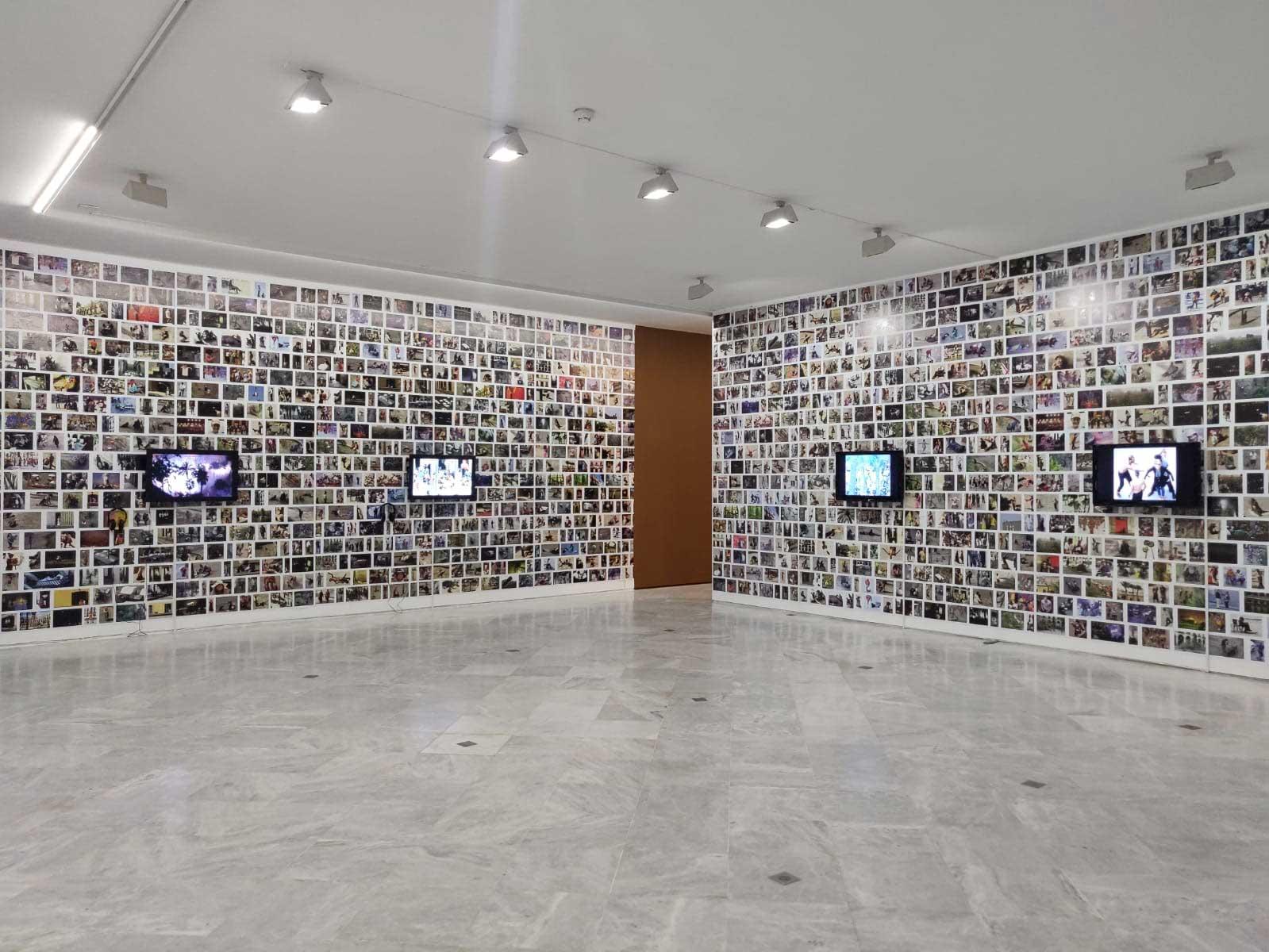 Vista de sala de la exposición 'Nazario' (CAAC, 233 de septiembre, 2021 - 28 de febrero de 2022)