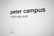 Recorrido fotográfico por la exposición Peter Campus. Video ergo sum