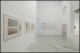 Vista de sala de la exposición José Soto. Campos de color