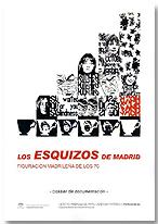 """Portada del dossier documental de la exposición """"Los esquizos de Madrid. Figuración madrileña de los setenta"""""""