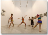 Image from the exhibition  &quot;SEE DANCE. A dialogue between dance and the fine arts&quot;. Details of the work &quot;Pitos y flautas&quot; (2007), Blanca Li